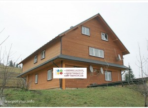 4 Яблуница Карпаты , Двухэтажный дом на 14-16 мест номера с удобствами