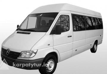 Замовляйте автобус Merctdes Sprinter на 20 пасажирських місць, ГРУПОВІ ЕКСКУРСІЇ