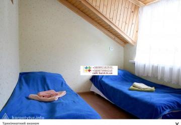 Трехэтажный дом с камином, номера эконом, стандарт, люкс с кухней и отдельным входом