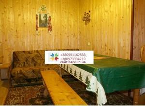 18 Яблуница, первый этаж с отдельным входом, 3 комнаты 6-8человек