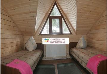 3 Яблуниця Двухэтажный деревянный коттедж на 8 человек отдых в Карпатах