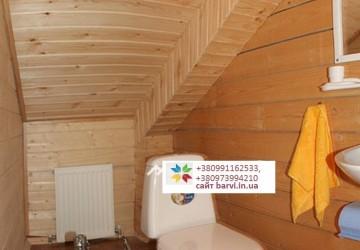 3 Двухэтажный деревянный коттедж на 8 человек