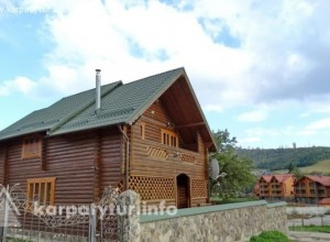 Паляниця котедж, будинок на 10 місць 2 км ГК